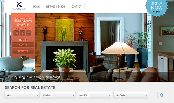 k company agent website Realtors   Join The K Company