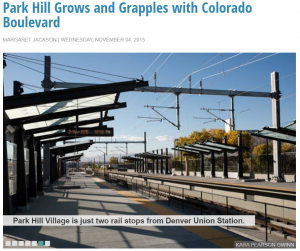 Confluence Denver article about Park Hill