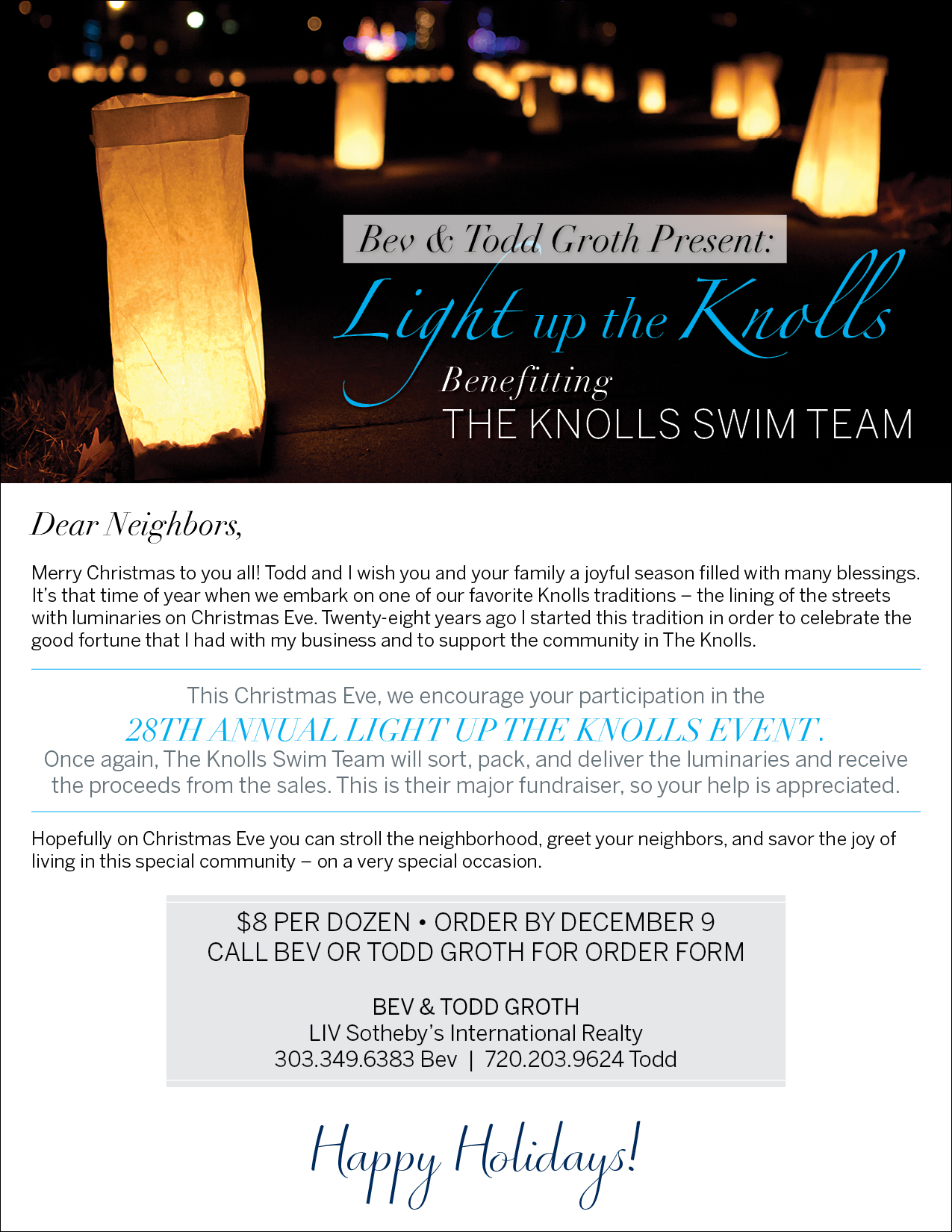 Light Up The Knolls