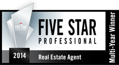 Five Star Small About Gerry Fitzpatrick RE/MAX Southeast Inc.