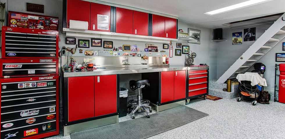 garage workbench Nate Belote RE/MAX