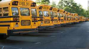 Schools buses Littleton Colorado Jeffco Schools