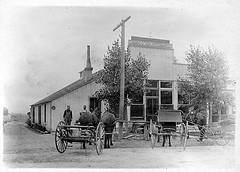 Lewis Store Parker CO from Douglas County History Research Parker Colorado History