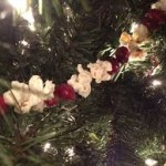 Popcorn and Cranberry Garland 150x150 Ornaments from the Kitchen