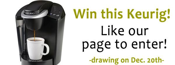 581847 686476334710248 324320414 n Want to win a Keurig Coffee Maker?