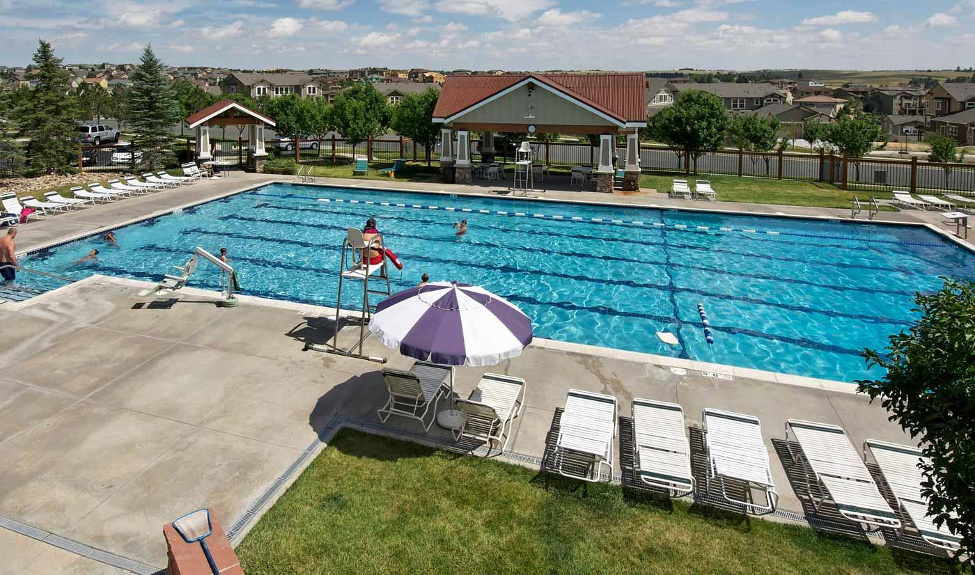 Tallyns Reach 6 Lane Swimming Pool