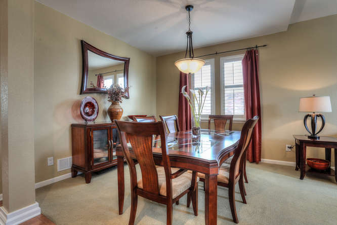6934 South Fultondale Circle small 010 4 Dining Room 666x444 72dpi Just Listed by Jo Pellegrino in Tallyns Reach! 6934 S Fultondale Cir Aurora, CO 80016