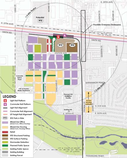 Peoria Station Land Use Map