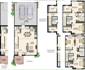 ThriveTempoAffordable 300x246 Affordable rowhomes in Stapleton priced under $200K