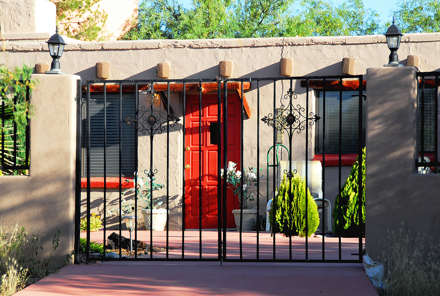 Denver co spanish southwestern and stucco style homes for Adobe style manufactured homes