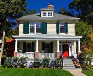 Four square or Plains square home